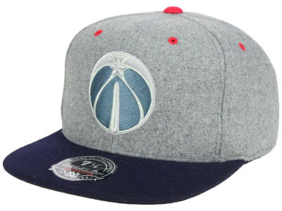 Washington Wizards Mitchell & Ness NBA Greyton Fitted Cap