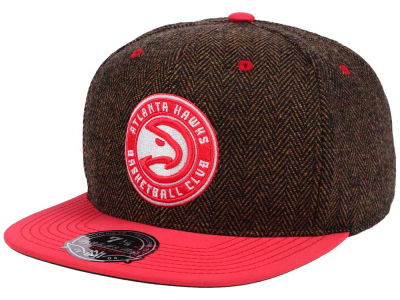 Atlanta Hawks Mitchell and Ness NBA Donegal Tweed Fitted Cap