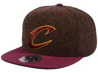 Cleveland Cavaliers Mitchell and Ness NBA Donegal Tweed Fitted Cap