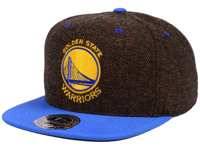 Golden State Warriors Mitchell and Ness NBA Donegal Tweed Fitted Cap