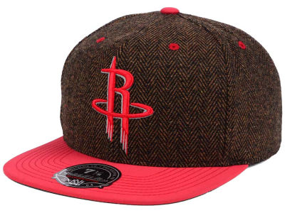Houston Rockets Mitchell & Ness NBA Donegal Tweed Fitted Cap
