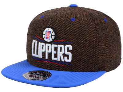 Los Angeles Clippers Mitchell and Ness NBA Donegal Tweed Fitted Cap