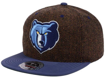 Memphis Grizzlies Mitchell & Ness NBA Donegal Tweed Fitted Cap