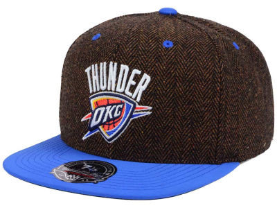 Oklahoma City Thunder Mitchell and Ness NBA Donegal Tweed Fitted Cap