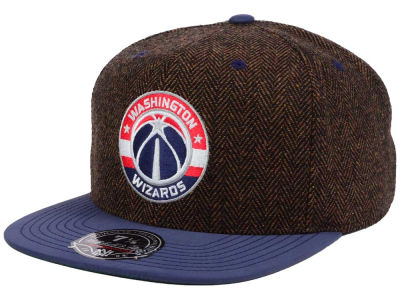 Washington Wizards Mitchell & Ness NBA Donegal Tweed Fitted Cap