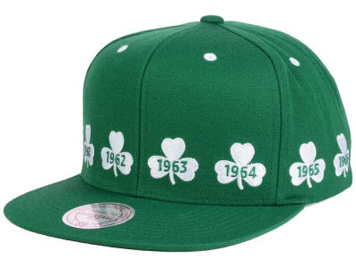 Boston Celtics Mitchell & Ness NBA Championship Pack Cap