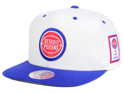 Detroit Pistons Mitchell and Ness NBA Championship Pack Cap