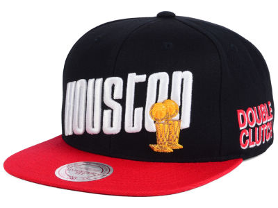 Houston Rockets Mitchell and Ness NBA Championship Pack Cap