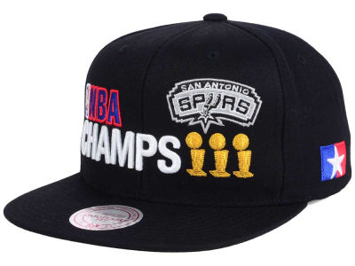 San Antonio Spurs Mitchell and Ness NBA Championship Pack Cap