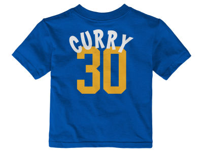Golden State Warriors Stephen Curry NBA Infant Whirlwind Player T-Shirt