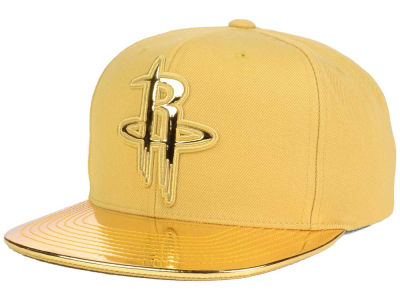 Houston Rockets Mitchell and Ness NBA Metallic Foil Snapback Cap