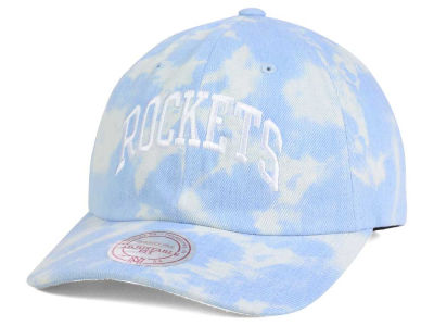 Houston Rockets Mitchell and Ness NBA Light Arch Dad Hat