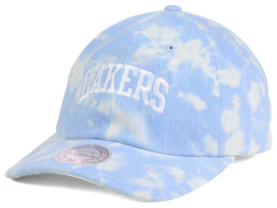 Los Angeles Lakers Mitchell and Ness NBA Light Arch Dad Hat