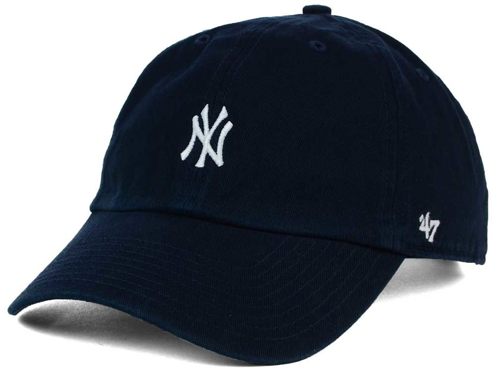 New York Yankees  47 MLB Base Runner  47 CLEAN UP Cap  a941346941df