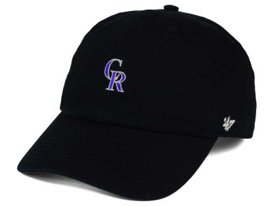 Colorado Rockies '47 MLB Base Runner '47 CLEAN UP Cap