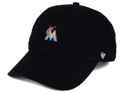 Miami Marlins '47 MLB Base Runner '47 CLEAN UP Cap