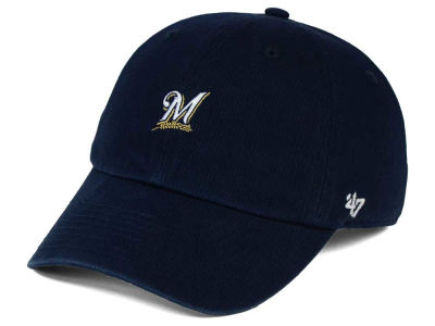 Milwaukee Brewers '47 MLB Base Runner '47 CLEAN UP Cap