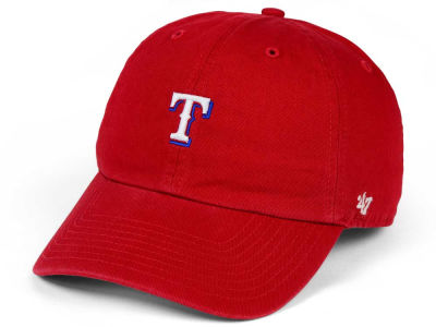 Texas Rangers '47 MLB Base Runner '47 CLEAN UP Cap