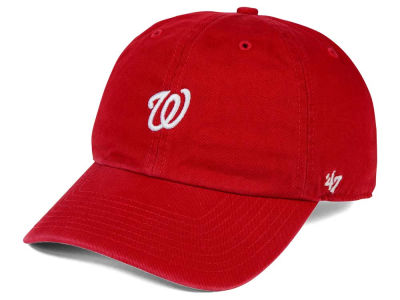 Washington Nationals '47 MLB Base Runner '47 CLEAN UP Cap