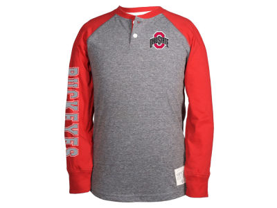 Ohio State Buckeyes NCAA Toddler Ryland Long Sleeve Raglan T-Shirt