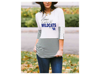 Kentucky Wildcats Gameday Couture NCAA Women's Button Back Top