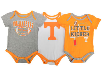 Tennessee Volunteers NCAA Newborn 3 Points 3-Piece Creeper Set