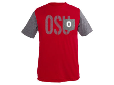 Ohio State Buckeyes NCAA Youth Jared Color Block Pocket T-Shirt