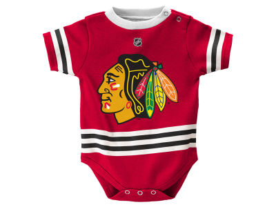 Chicago Blackhawks adidas NHL Newborn Hockey Jersey Creeper