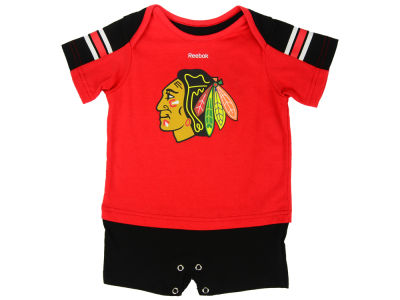 Chicago Blackhawks adidas NHL Infant Breakout Star Jersey Romper