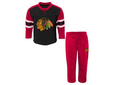 Chicago Blackhawks adidas NHL Toddler MVP Pant Set