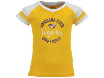 LSU Tigers NCAA Toddler Girls Calley T-Shirt