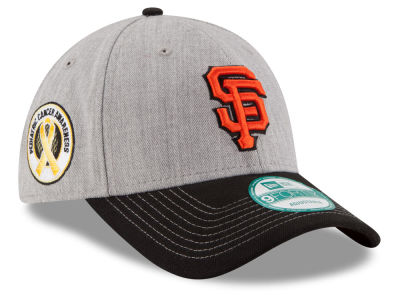 San Francisco Giants New Era MLB BP Cancer Awareness 9FORTY Cap