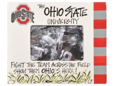 Ohio State Buckeyes Across The Field Frame