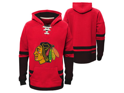 Chicago Blackhawks adidas NHL Youth CCM Vintage Hoodie