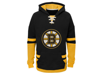 Boston Bruins adidas NHL Youth CCM Vintage Hoodie