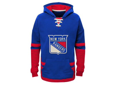 New York Rangers adidas NHL Youth CCM Vintage Hoodie
