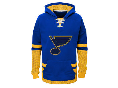 St. Louis Blues adidas NHL Youth CCM Vintage Hoodie