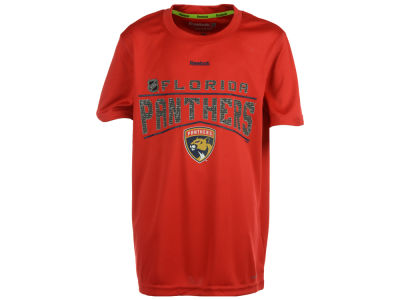 Florida Panthers adidas NHL Youth Freeze Reflect Speedwick T-Shirt
