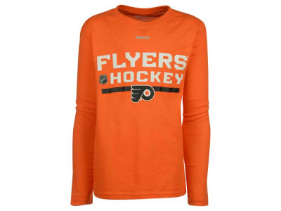 Philadelphia Flyers adidas NHL Youth Authentic Freeze Long Sleeve T-Shirt