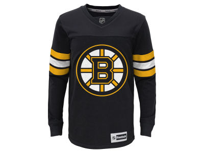 Boston Bruins adidas NHL Youth Jersey Long Sleeve T-Shirt