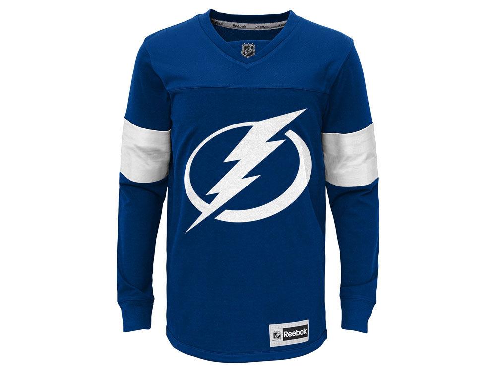 21d388e58 ... Tampa Bay Lightning adidas NHL Youth Jersey Long Sleeve T-Shirt ...