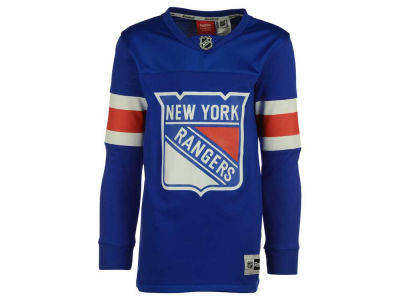 New York Rangers adidas NHL Youth Jersey Long Sleeve T-Shirt