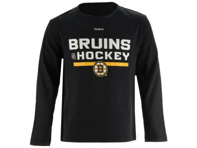 Boston Bruins adidas NHL Youth Authentic Freeze Long Sleeve T-Shirt