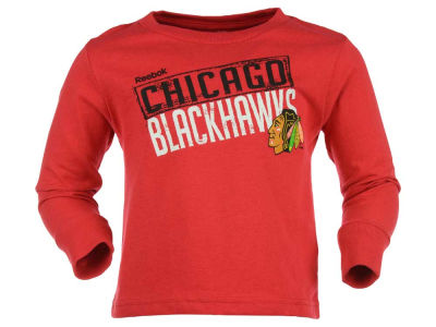 Chicago Blackhawks adidas NHL Toddler Little Guy Long Sleeve T-Shirt