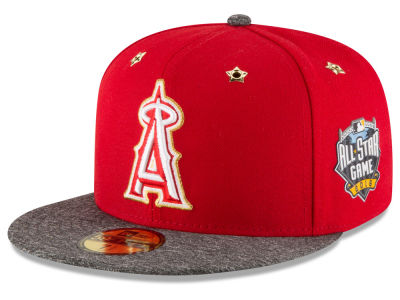 Los Angeles Angels New Era 2016 MLB All Star Game Patch 59FIFTY Cap