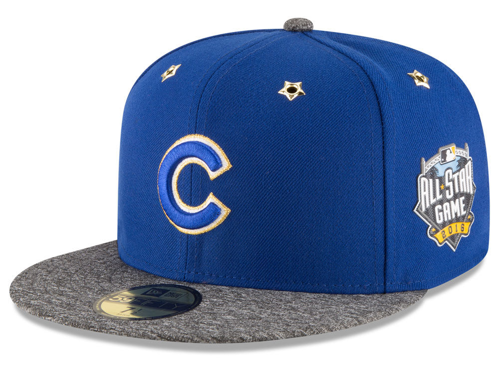 the latest 63fa0 878b1 ... italy chicago cubs new era 2016 mlb all star game patch 59fifty cap  e38c5 49339 ...