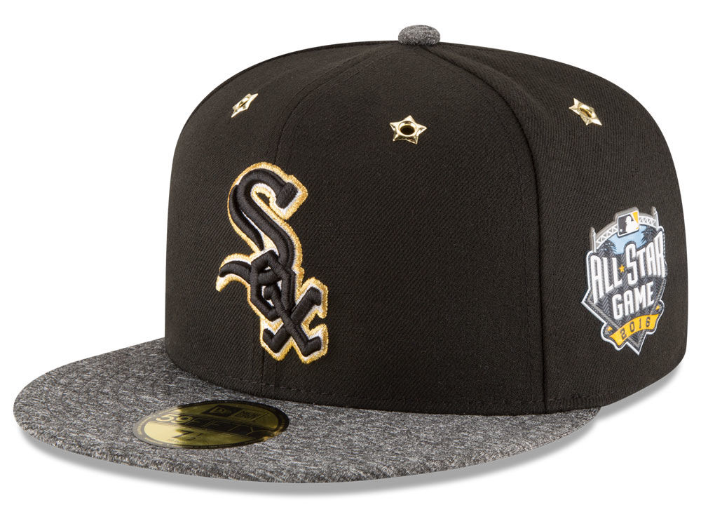 new product ac8b5 9e5c6 ... clearance chicago white sox new era 2016 mlb all star game patch  59fifty cap 0d6ef d5631