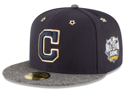 Cleveland Indians New Era 2016 MLB All Star Game Patch 59FIFTY Cap