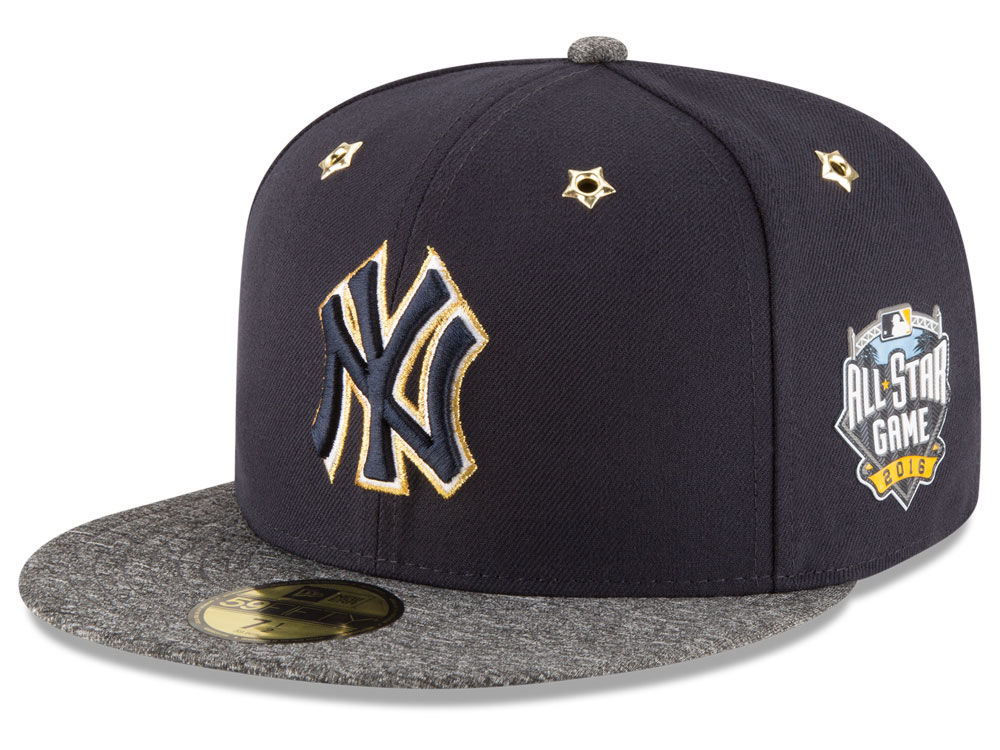 sports shoes 05186 e0748 ... canada new york yankees new era 2016 mlb all star game patch 59fifty cap  f06d9 d7af4 ...