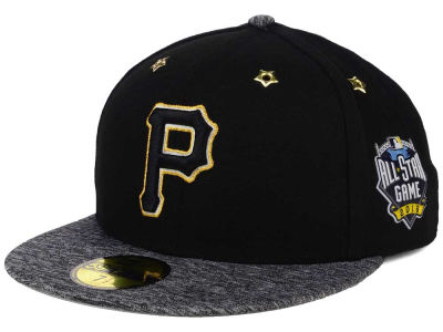 Pittsburgh Pirates New Era 2016 MLB All Star Game Patch 59FIFTY Cap